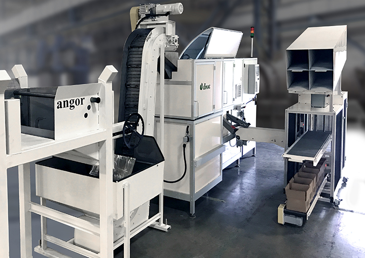 Dimac macchina per controllo selezione imballaggio fasteners
