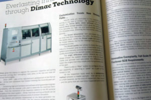 Dimac Innovation & Technology on the main trade magazines issued on April