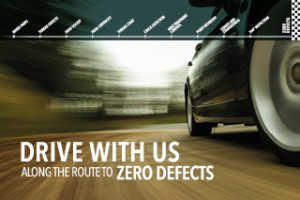 Drive with us along the route to ZERO DEFECTS – 2016
